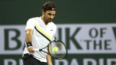 Роджър Федерер запазва първото място при четвъртфинал в Маями
