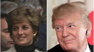 Какво е искал Доналд Тръмп от принцеса Даяна