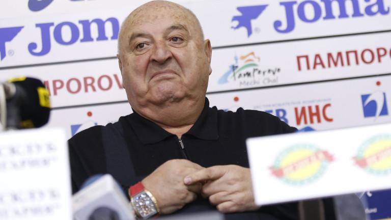 Венци Стефанов: Хубчев е подал оставка, Левски е много голям клуб
