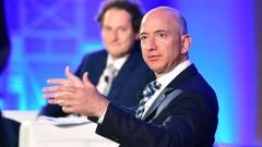 Джеф Безос продаде акции на Amazon за рекордните $1,1 милиарда