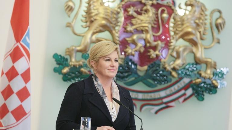 Президентът на Хърватия отново ще подкрепя националния отбор по футбол