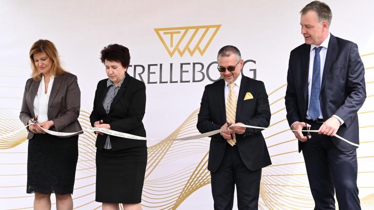 Новата производствена сграда на Trelleborg Sealing Solutions в Перник бе