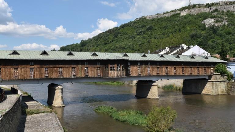 Змии тормозят търговци на покрития мост в Ловеч
