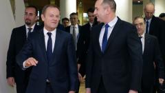 Радев призова Брюксел да ни помага повече като външна граница на ЕС