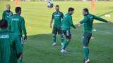Националите тренираха в Лисабон