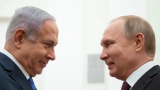 Путин пред Нетаняху: Сирия помогна на руската армия да открие останките на израелски войник
