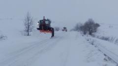 Сняг блокира пътя към Бяла