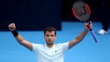 В Испания: Григор Димитров е клонинг на Роджър Федерер