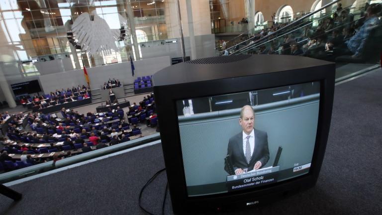 Финансовият министър на Германия Олаф Шолц заяви, че е добър