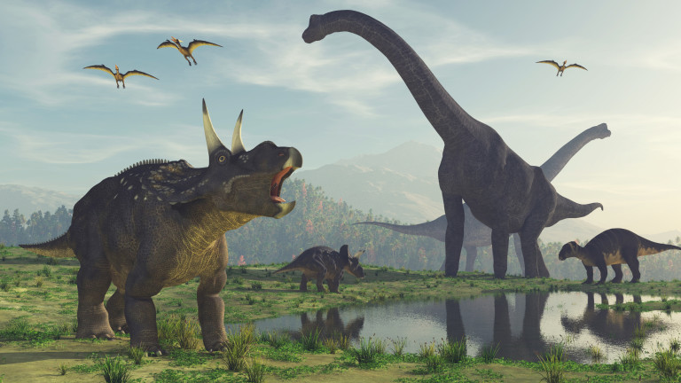 Основната теория за изчезването на динозаврите преди 66 милиона година