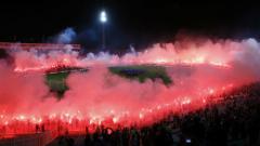 """Левски честити годишнината на """"братята"""" от Лацио"""