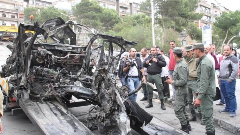 Кървав атентат с кола - бомба в Сирия