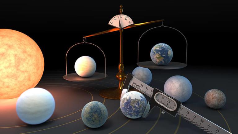 7 планети около Трапист-1 приличат на Земята и са със забележително сходна плътност