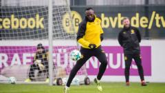 Юсейн Болт тренира с пореден футболен отбор