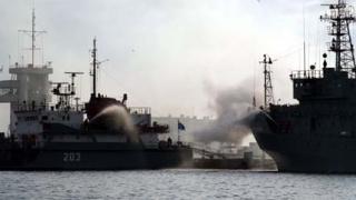 Кораб се разби край Южна Корея
