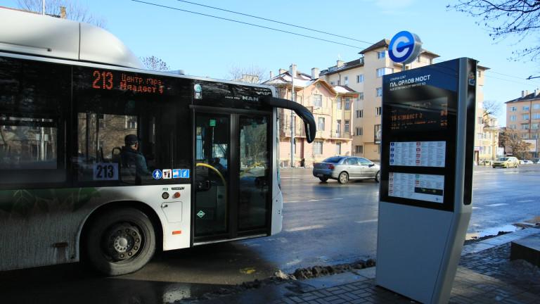Четирима задържани за хулиганство и побой в автобус в София