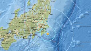 Силно земетресение край източното крайбрежие на Япония