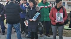 Протест срещу обжалването на присъдата за убитото дете в Сотиря