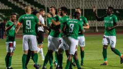 Берое - Славия 2:0, голове на Мартин Камбурова