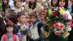 Дарение вместо цветя за първия учебен ден