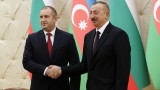 Радев и Алиев се увериха за значението на Южния газов коридор