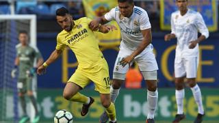Виляреал спря Реал (Мадрид) в последния кръг от Примера