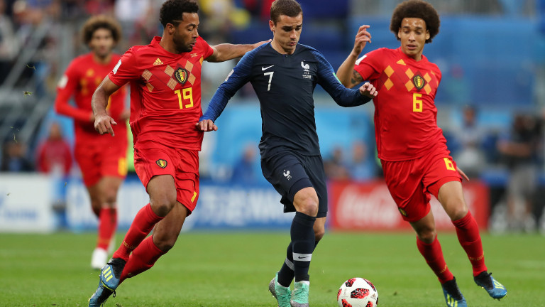 Франция 1 : 0 Белгия 51′ ГООООЛЛЛ ЗА ФРАНЦИЯ! Самюел