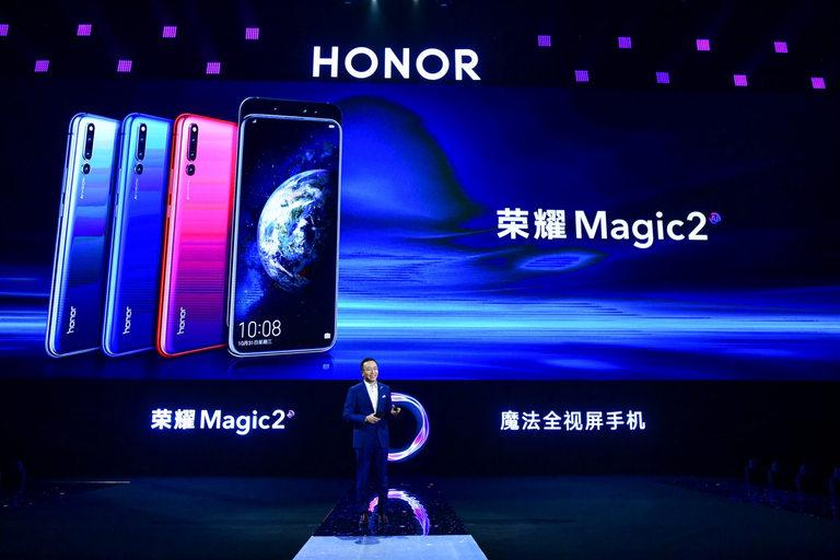 Президентът на Honor Джордж Дзао представи новия смартфон