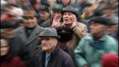 Пенсионери протестираха в плевенско