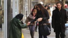 Четирите области у нас, в които над 1/4 от населението попада в графата на бедността