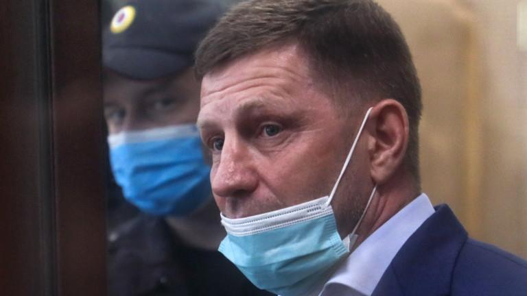 Кремъл се опитва да успокои протестите след задържането на губернатора Сергей Фургал