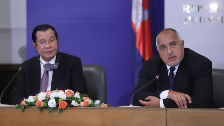 Камбоджанският премиер сравнява епохата Тато с епохата Борисов