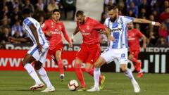 """Нова издънка за Реал (Мадрид), """"кралете"""" се """"спънаха"""" в Леганес"""