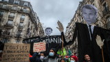 След сблъсъцивъв Франция са арестувани 95 протестиращи