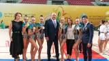 Красен Кралев поздрави гимнастичките за златните медали!