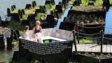 От какво са направени плаващите градини на Ротердам