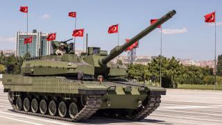 Турция започва масово производство на собствени бойни танкове