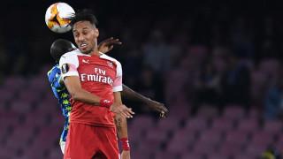 Наполи - Арсенал, 0:1 (Развой на срещата по минути)