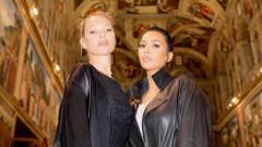 Какво свързва Ким Кардашиян и Кейт Мос