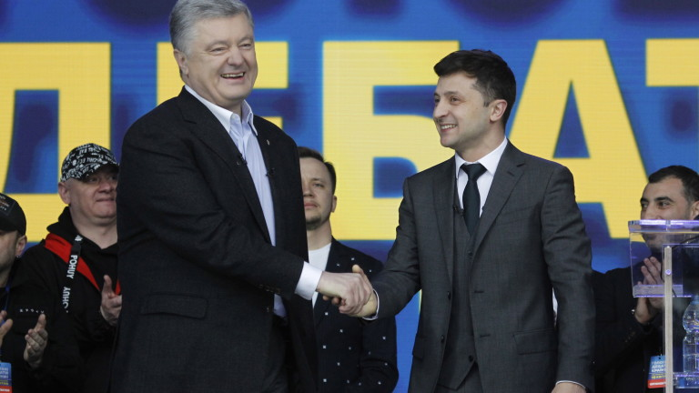 Русия не вижда разлики между Зеленски и Порошенко