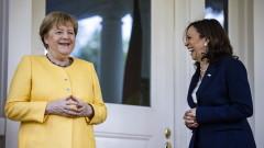 Меркел се срещна с Камала Харис в началото на прощалното си посещение в САЩ