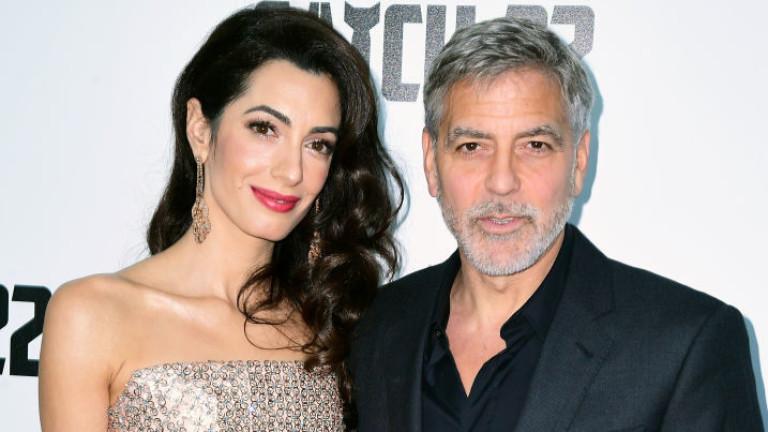 Джордж Клуни откровено за брака си с Амал