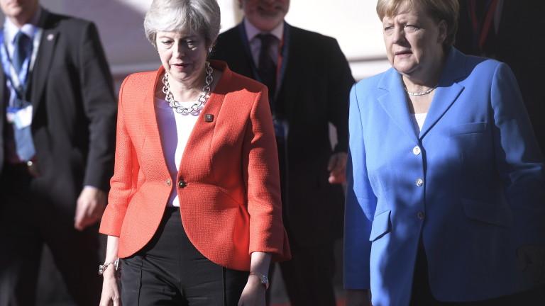 Канцлерът на Германия Ангела Меркел не поздравила премиера на Великобритания