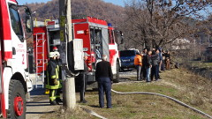Два пожара горят в Старозагорско