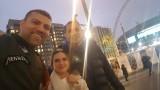 Кубрат Пулев се разходи из Лондон в отлично настроение