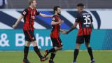 Айнтрахт победи с 2:1 Байерн в Бундеслигата