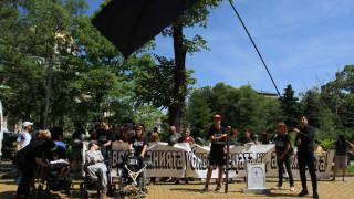 Протестиращите майки с надежда след връщането на Петков