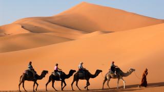 Пустинята Ерг Чеби - една от най-големите забележителности на Мароко