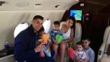 Кристиано Роналдо, Джорджина Родригес и ваканцията им в Гърция