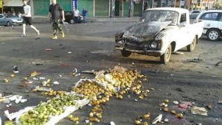 """Над 220 убити при нападенията на """"Ислямска държава"""" в Южна Сирия"""